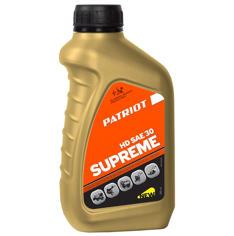 Масло PATRIOT SUPREME HD SAE 30 4T 0,592 л.