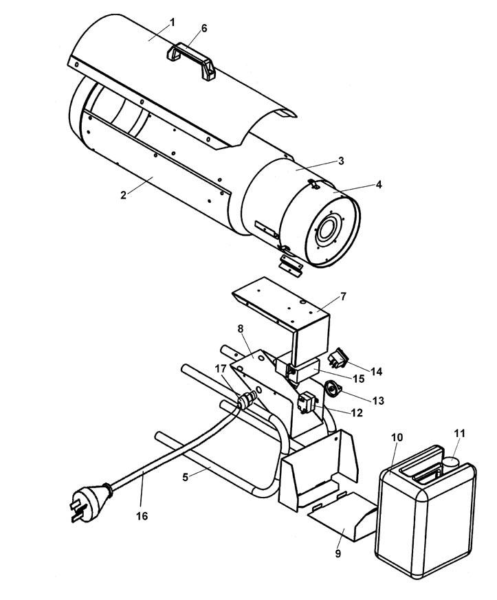 Взрыв-схема ДК14-26ПК (с